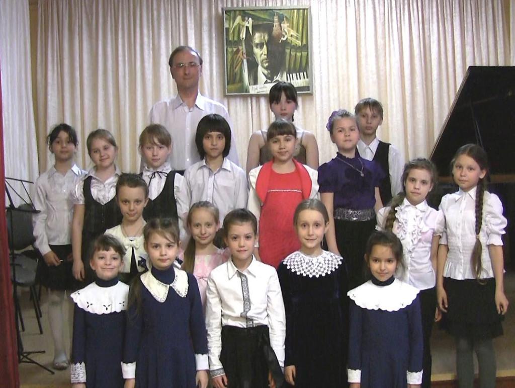 Класс композиции - А.В. Павлючук с учениками