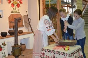 Театрализованный праздник в краеведческом музее