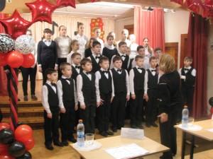 Победа в конкурсе английской песни