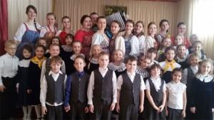 Студенты СПО СГК с учениками начальной школы МЭЛ