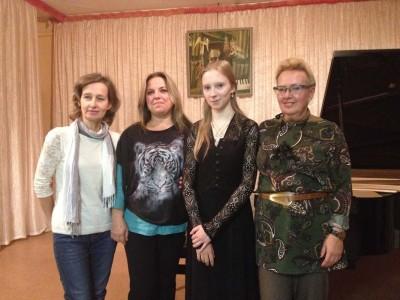 Сольный концерт Софьи Ключниковой