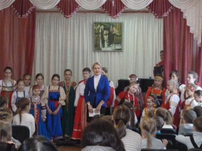 Концерт «Фольклор-детям»